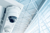 Security, CCTV camera in the office building