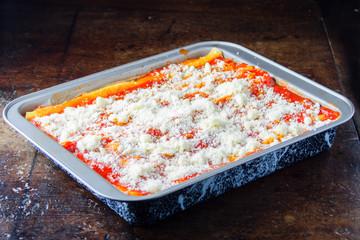 Lasagna Al forno, lasagna bolognese