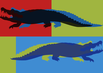 Crocodile pop