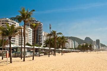 Copacabana Beach in the Morning, Rio de Janeiro
