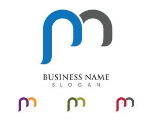 m, pm logo