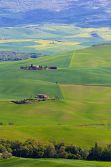 Tuscany countryside near Pienza, Italy