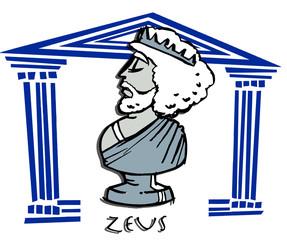 zeus, antique greek gods