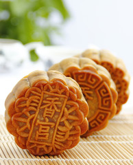 The MoonCake and Chinese Tea for Good Time