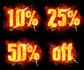 Discount Fire Banners