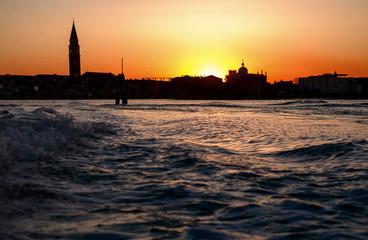 View of San Giorgio Maggiore - island of Venice Italy