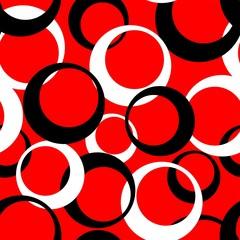 black white vector circles