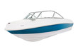 The image of a motor boat under the white background - 80263138