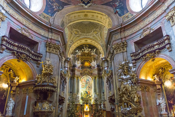 Peterskirche at Vienna, Austria
