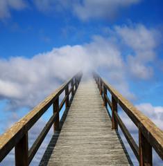 Himmelfahrt, Weg in den Himmel