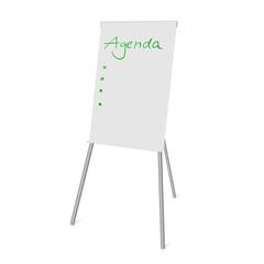 flipchart agenda I