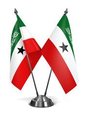 Somaliland - Miniature Flags.