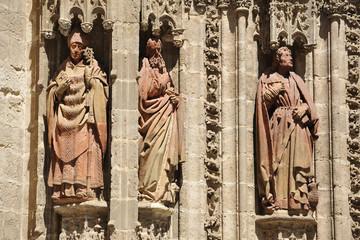 San Laureano, san marcos, san Juan, catedral de Sevilla, España