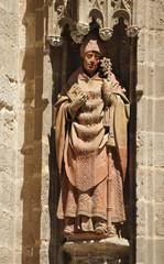 San Laureano, catedral de Sevilla, España