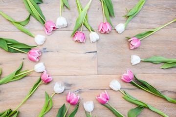 Tulpen Herzform