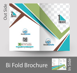 Real estate & Architecture Bi-Fold Mock up & Brochure Design