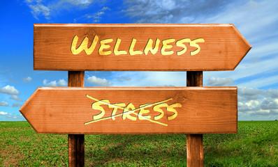 Strassenschild 33 - Wellness