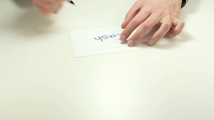 Short meeting note Cash