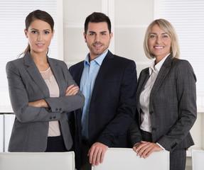 Fachkräfte: Business Team Männer und Frauen Portrait