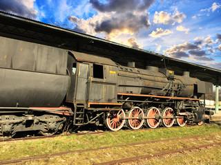 Historic steam engine
