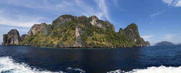 Koh Phi Phi Leh Panorama.
