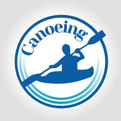 icon canoeing