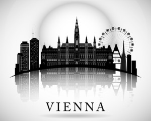 Modern Vienna City Skyline Design - Austria