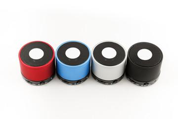 Mini loudspeaker gadget.