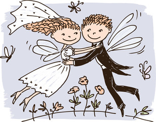 elves newlyweds