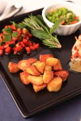patate arrosto e verdure