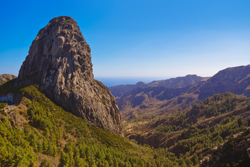 Rocks in La Gomera island - Canary