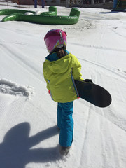 bambina snowboard