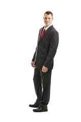 Full length businessman portrait