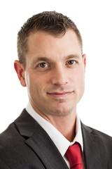 Businessman headshot portrait