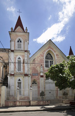 Catholic church in Cienfuegos. Cuba