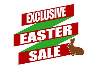 Exclusive Easter sale banner design