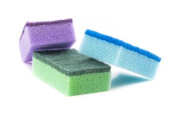 Colored sponges
