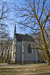 Beautiful small church in the woods