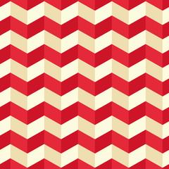 Seamless geometric zigzag pattern. Vector illustration.