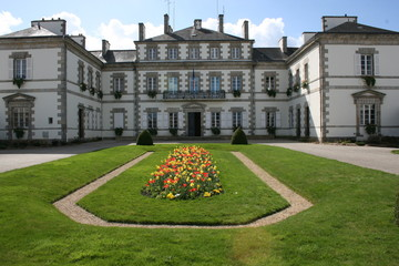 Hôtel de Ville de Pontivy (Morbihan, Bretagne)