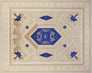 Blue Italian fresco
