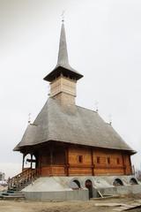 Wooden church in Moldova