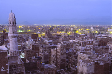 Sana, capital city of Yemen