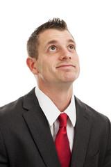 Frustrated businessman portrait