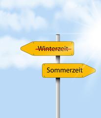 Jahreszeit Wechsel 2303 Sommerzeit, Winterzeit 2303