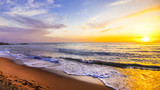 Fototapety sunset over sea, beauty in nature