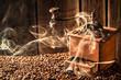 Taste of roasted coffee seeds - 80281175