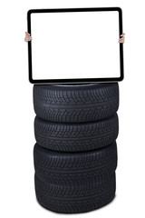 Tires with empty board