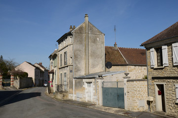 France, the picturesque village of Us
