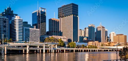 Foto op Plexiglas Australië Brisbane skyline, Australia